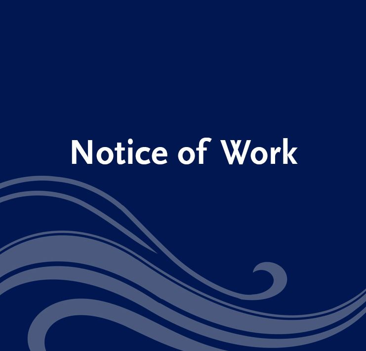 Notice of Work