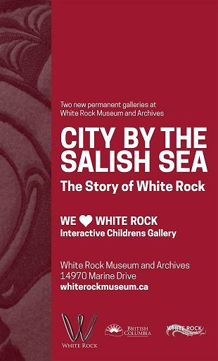 Museum Poster City by the Salish Sea