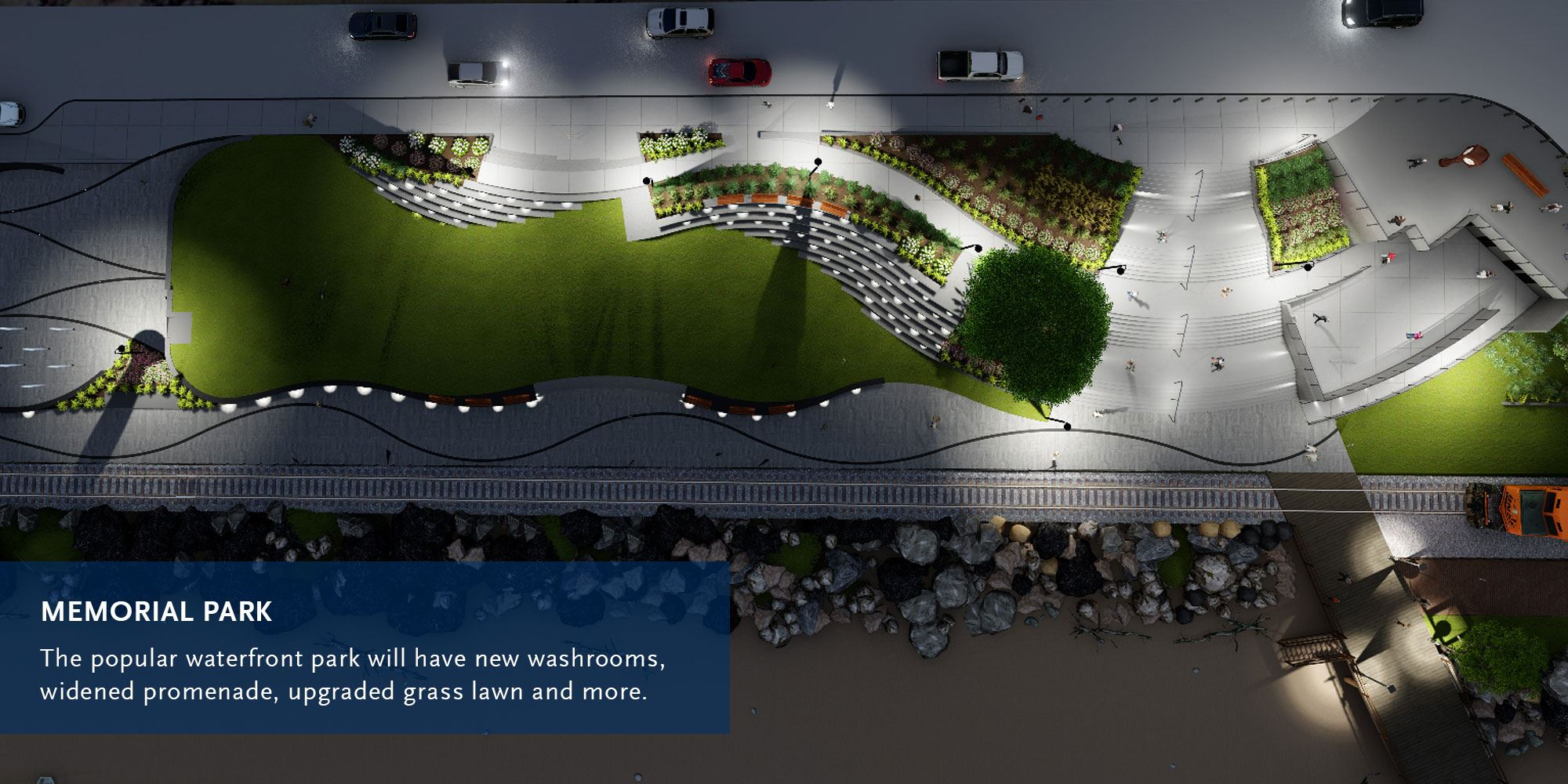 Concept image of Memorial Park