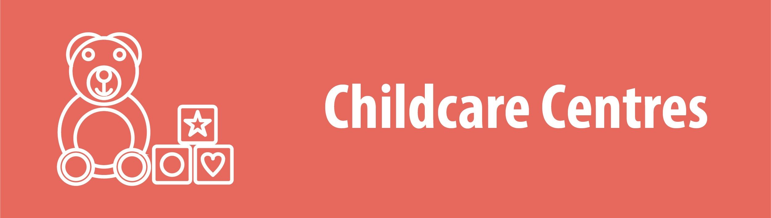 Childcare Centres Banner