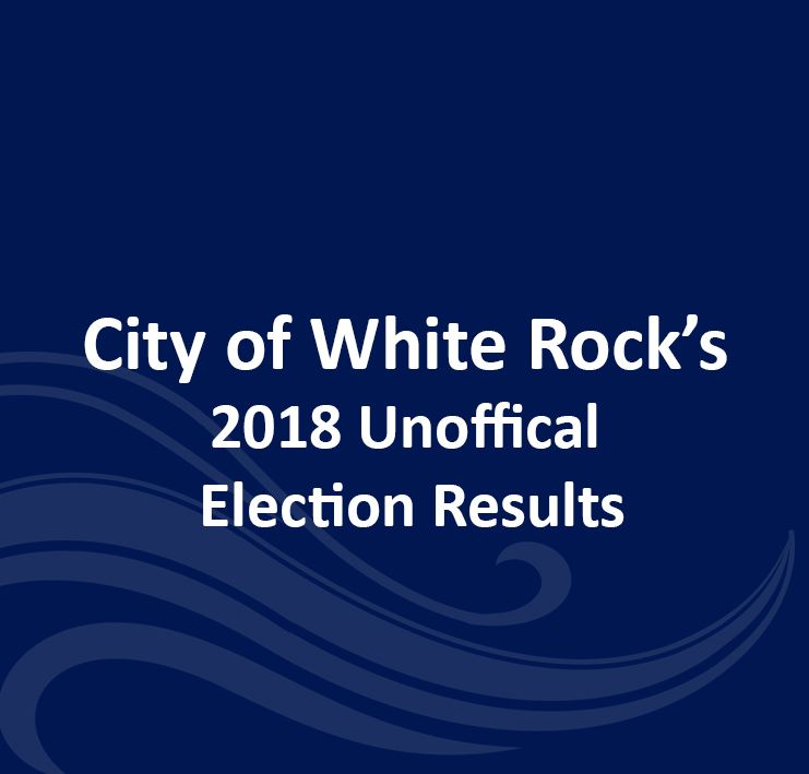 City of White Rock 2018 UNOFFICIAL Election Results