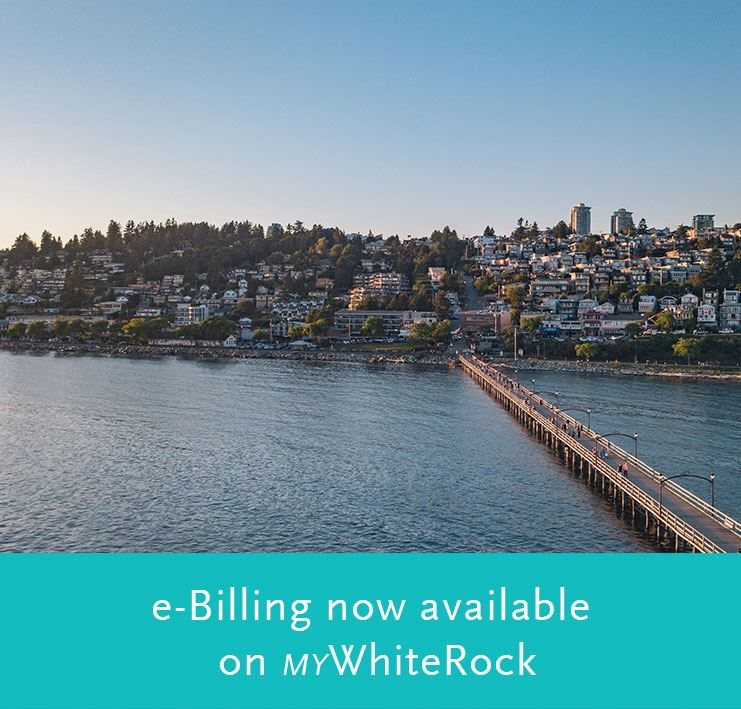 eBilling now available on myWhiteRock