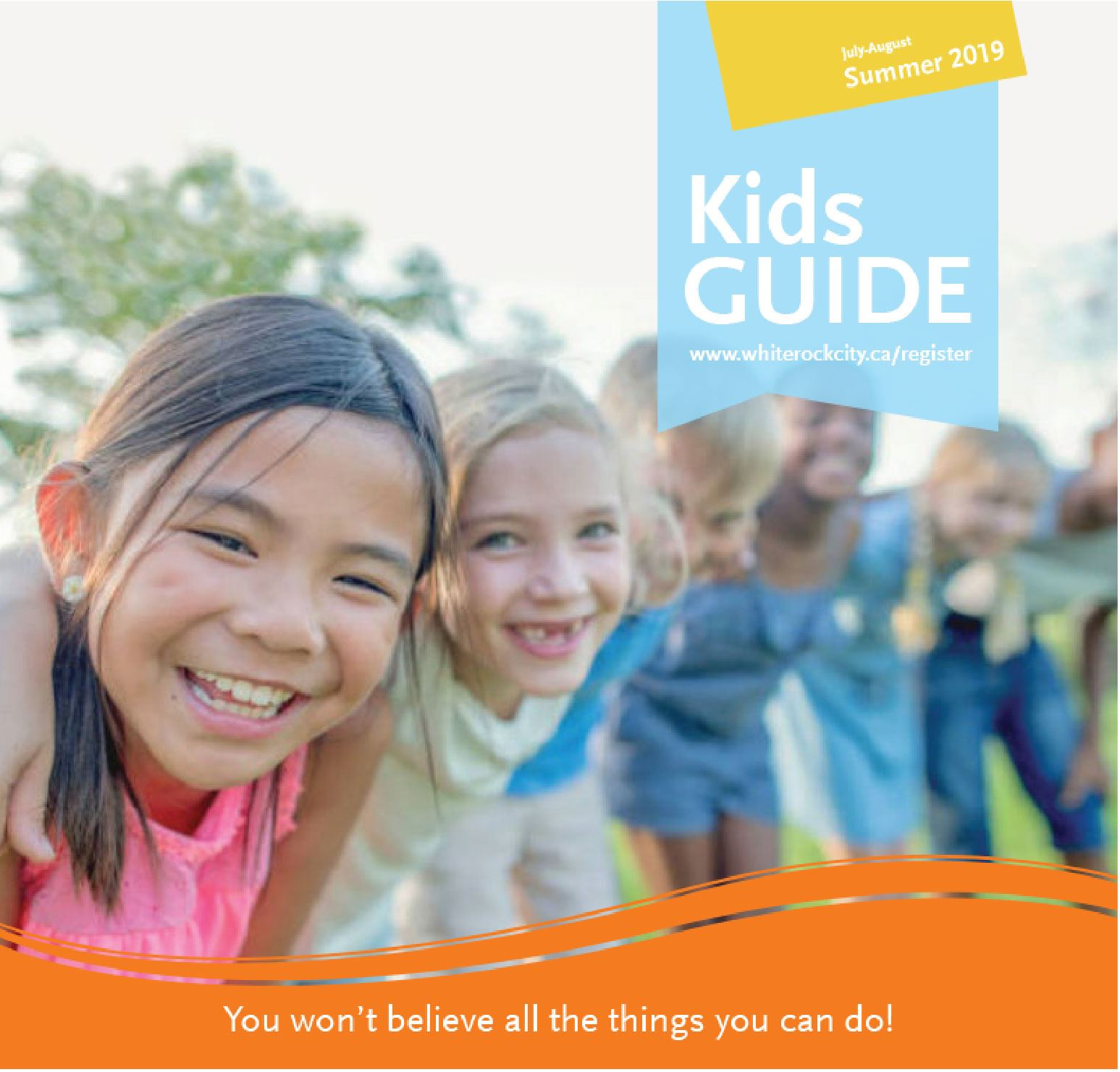 Kids Camps for the City of White Rock