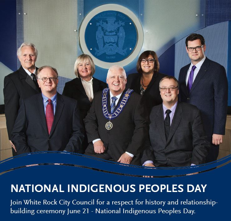 Message from White Rock City Council - National Indigenous Peoples Day