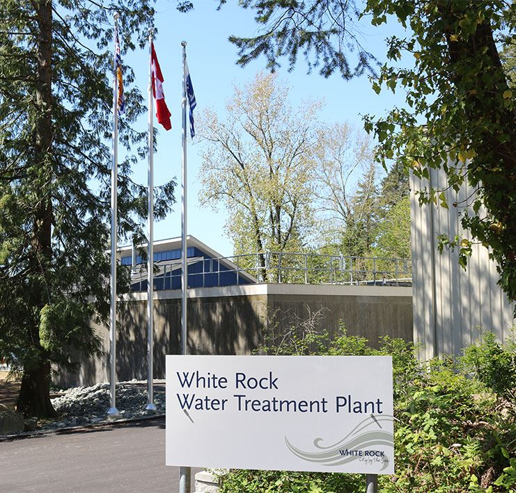 White Rock Water Treatment Plant