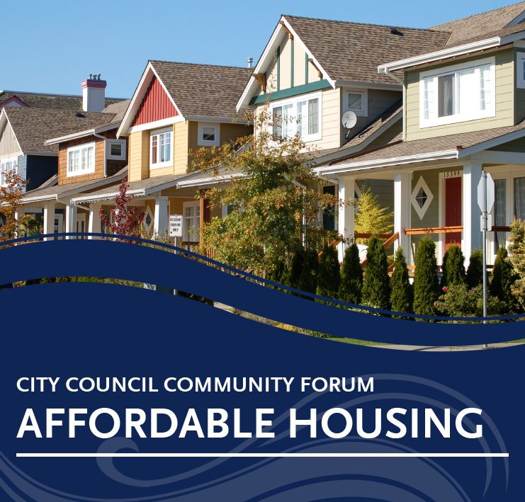 City Council Community Forum - Affordable Housing