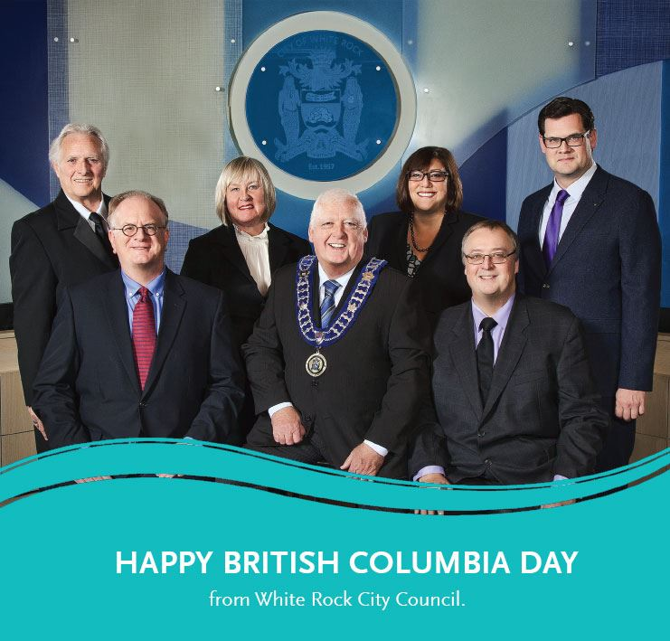 Message from White Rock City Council - Happy BC Day