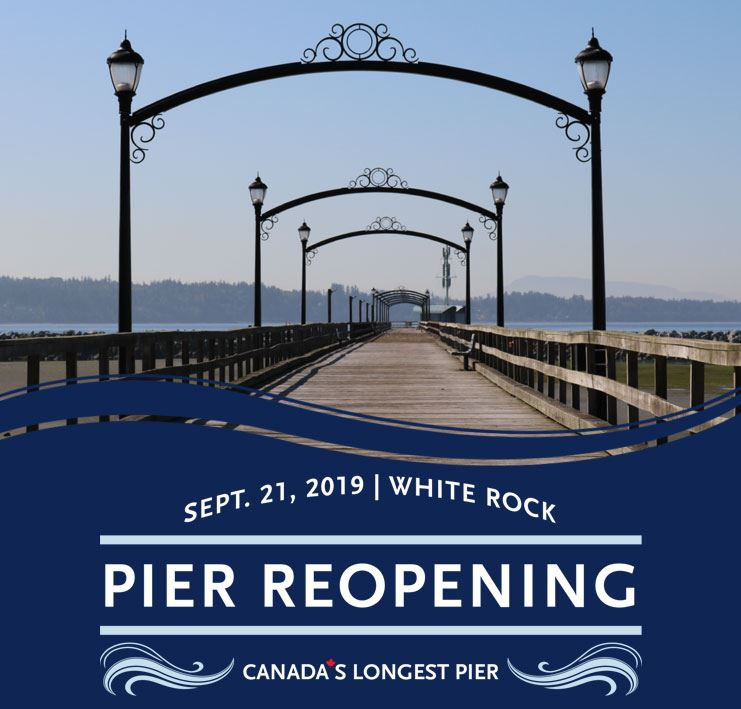 Official Pier Reopening Event