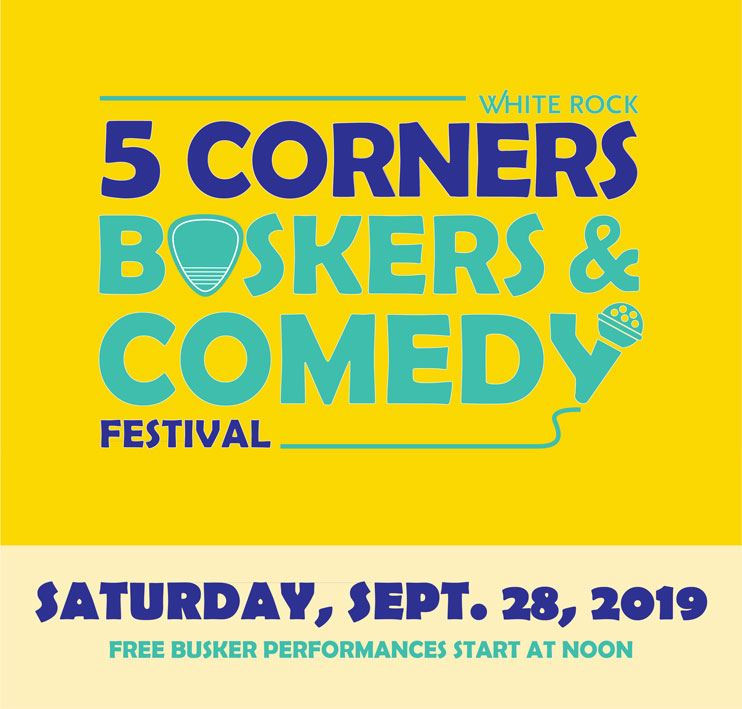 5 Corners Buskers and Comedy Festival - Saturday, Sept. 28