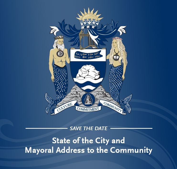 Save the Date - 2019 State of the City and Mayoral Address to the Community