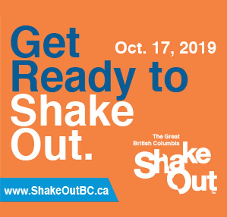 The Great BC ShakeOut 2019