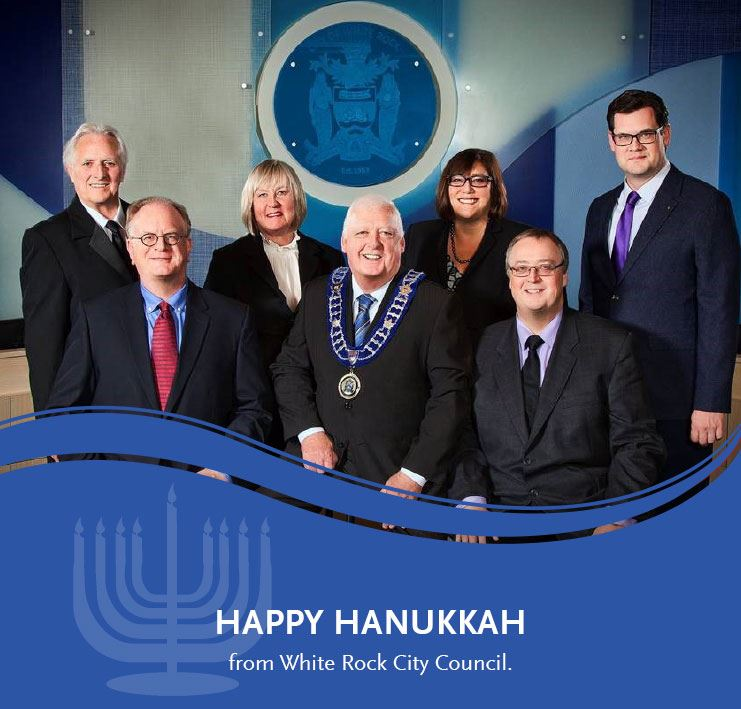 Happy Hanukkah from White Rock City Council