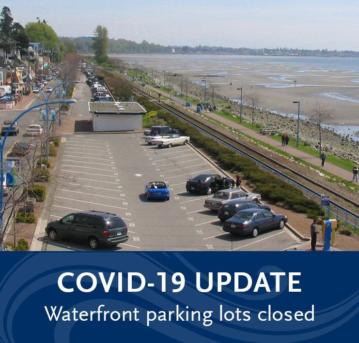 COVID-19 - Waterfront parking lots closed