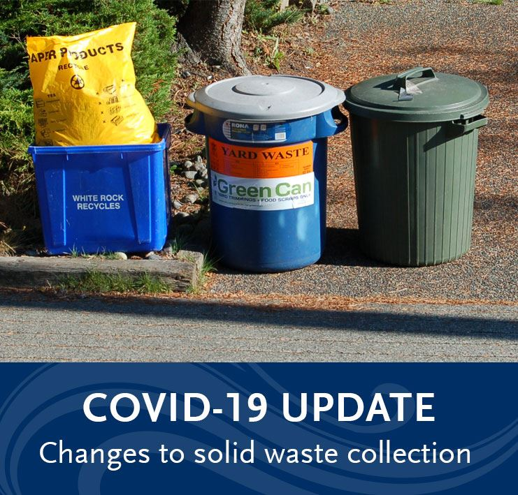 covid19 update - waste collection changes