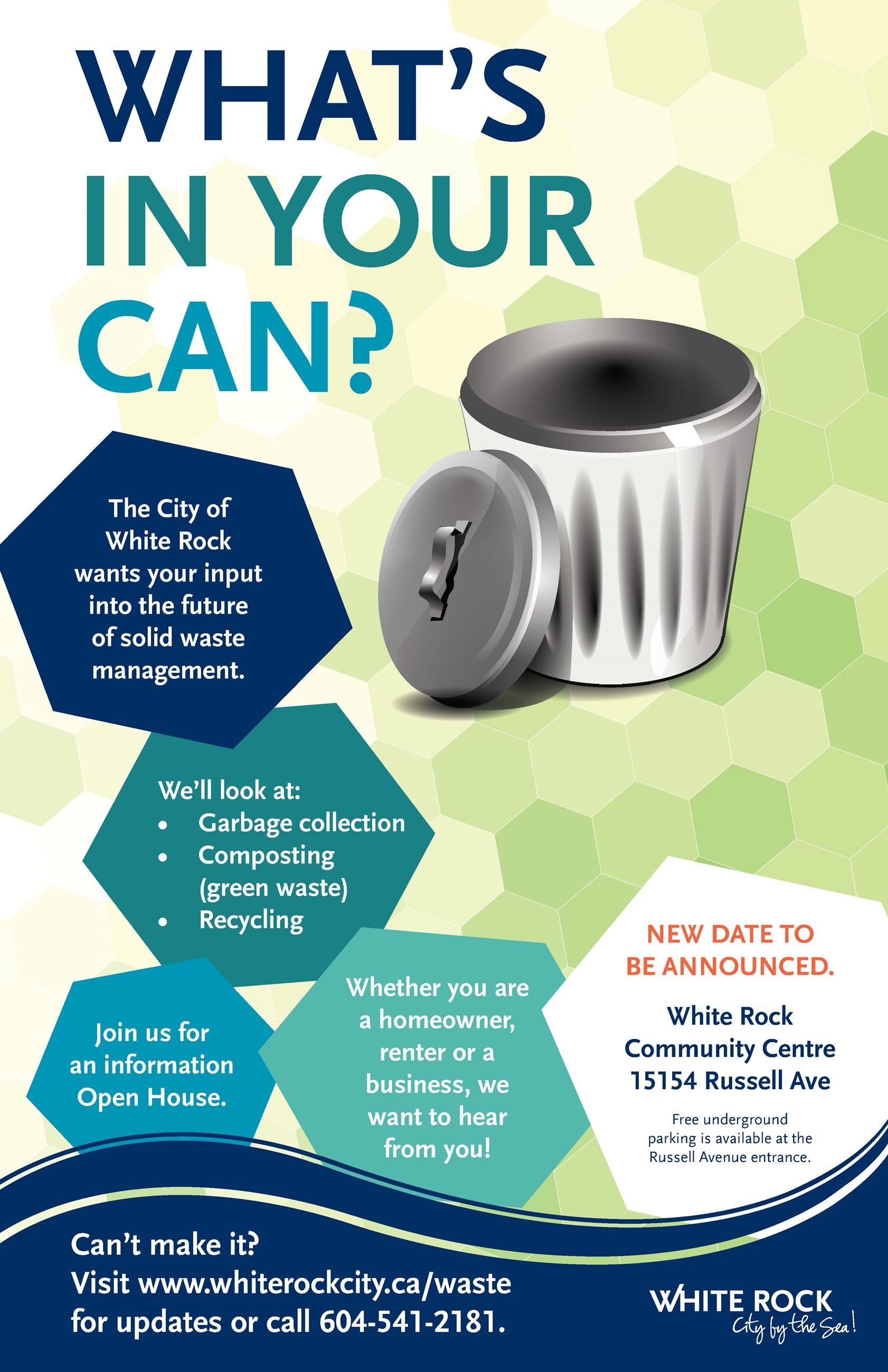 Whats in your can poster - new date