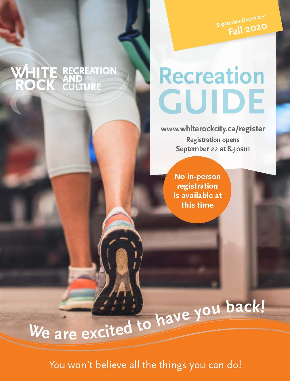 Fall 2020 Rec Guide Cover Opens in new window